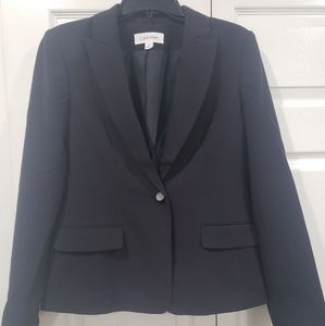 🌷 Calvin Klein 1 button blazer